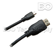 10 ft Micro HDMI TV Cable for ASUS T100TA-C1-GR Transformer Book Win8 Tablet