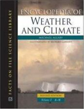 Encyclopedia of Weather and Climate, 2-Volume Set (Science Encyclopedi-ExLibrary