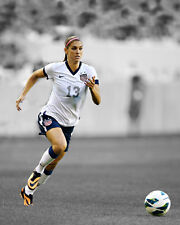 USA Soccer ALEX MORGAN Glossy 8x10 Photo Spotlight Poster FIFA Print Olympics