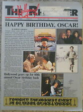 VINTAGE HOLLYWOOD REPORTER APRIL 11, 1988 HAPPY BIRTHDAY OSCARS ACADEMY AWARDS