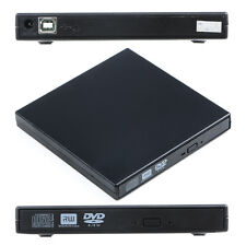 USB 2.0 Slim External CD-RW/DVD-RW DVD-ROM Burner Drive Writer for PC/Mac/Laptop