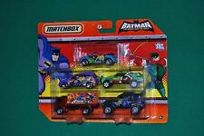 Matchbox 2010 Batman -The Brave and the Bold 5 Car Set New / Near Mint
