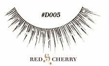Estilo #d 005 Rojo Cereza False Lashes Fiesta De Disfraces falso Pestañas Brillo