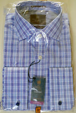 "Marks & Spencer Men Shirt, Was £45, Long Sleeve, 14 1/2"", Luxury, 100% Cotton"