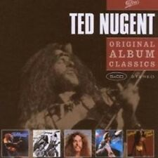 "TED NUGENT ""ORIGINAL ALBUM CLASSICS"" 5 CD BOX NEU"