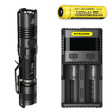 Nitecore P12GT Flashlight w/SC2 Charger & NL189 Rechargeable Battery