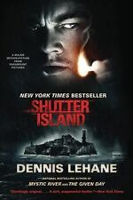 SHUTTER ISLAND BY DENNIS LEHANE PAPERBACK MOVIE TIE-IN