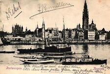 Antwerpen / Anvers, Teilansicht, 1899