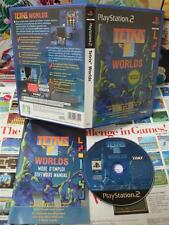 Playstation 2 PS2:Tetris Worlds [TOP & 1ERE EDITION] COMPLET - Fr