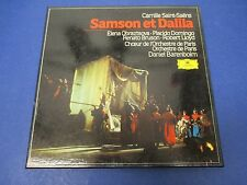 Saint-Saens Samson Et Dalila Barenboim , 27009 095, 3 Records with Score
