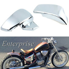 Chrome Battery Side Covers Fit Honda VT 600 C CD Shadow VLX Deluxe 1999-2007 NEW
