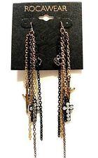 """ROCAWEAR 5"""" Fashion Earrings (MSRP:$22) - NWT"""