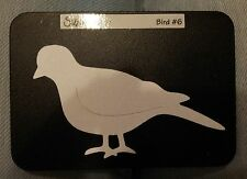 Sizzix Sizzlits  BIRD #6  Medium Die Cutter Fits Cuttlebug & Big Shot