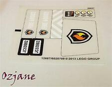 LEGO SPARES PARTS STICKER SET FOR 60002