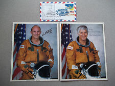 STS-4 Crew Set of Singles,Mattingly/Hartsfield + Rescue Autographed Cover