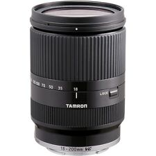 Refurbished Tamron 18-200mm F3.5-6.3 Di III VC Lens - Sony E Fit in Black