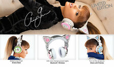 Limited Edition Ariana Grande Wireless Cat Ear Headphones (FREE SHIPPING)