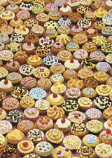 CUP CAKES gift-wrap - 2 sheets of 70x50cm quality, eco-friendly wrap