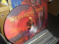 MEGADETH -PEACE SELLS- AWESOME ULTRA RARE LTD PICTURE LP WITH SLEEVE FIRST PRESS