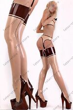 553 Latex Rubber Gummi outfits suspenders underwear customized stocking 0.4mm