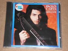 PAOLO CARTA (BRUNO LAUZI) - DOMANDE - RARO CD SIGILLATO (SEALED)