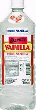 1 X Clear Danncy Pure Mexican Vanilla Extract 33oz Plastic Bottle From Mexico