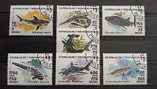 Briefmarken Welt Afrika Madagasikara Motiv Fische Tiere Stamps World Fish