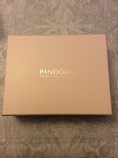 PANDORA Unforgettable Moments Jewelry Box light Pink Genuine Leather