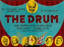 The Drum - 1938 - Sabu Dagastir Raymond Massey Korda - Vintage War Film DVD