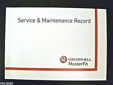 Vauxhall Service History Record Book Astra Van & Sportive Brand New Genuine*