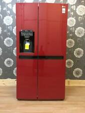LG American-Style Fridge Freezer Red with ice and water