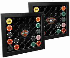 Harley-Davidson® 2-in-1 Poker Chip Collectors  Frame 6925D