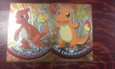 2000 TOPPS CHROME POKEMON CHARMANDER CHARMELEON #04 #05 CARD LOT
