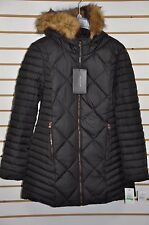 NWT Women's Marc New York, Down Coat W/ Fur(Detachable) Hood. Sz.L. Reg. $300.