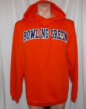 NEW BOWLING GREEN (OHIO) FALCONS NCAA Unisex Large TCX HOODED SWEATSHIRT HOODIE