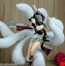 New Brand LOL LIMITED LEAGUE OF LEGENDS MID AP AHRI Nine-Tailed Fox FIGURE TOYS