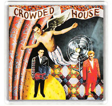 CROWDED HOUSE 1986 LP COVER FRIDGE MAGNET IMAN NEVERA