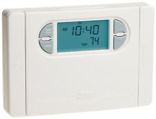 HUNTER Energy Star 7 Day Programmable Thermostat White w/ Auto Changeover 44550