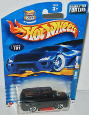 #191/2002 - 1956 FORD DELIVERY - flat black/graphics - 1:64 Hot Wheels