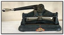 CUMMINS NO. 53 POSTAGE STAMP PERFORATOR GM&O RAILROAD GULF MOBILE & OHIO PERFINS