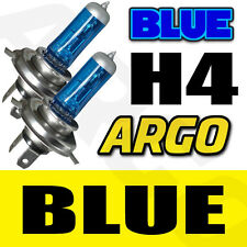 H4 55W SUPER BLUE XENON (472) HEADLIGHT BULBS 12V ULTRA BRIGHT BULBS XENNON