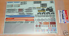 TAMIYA 54630 Sponsor Adesivo Set (per OFF-ROAD CAR) (High-Lift/brusier/Crawler)