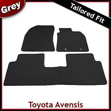 Toyota Avensis Mk3 2009 2010 2011 onwards Tailored Fitted Carpet Car Mats GREY
