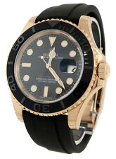 Rolex Yacht-Master 40mm Rose Gold 116655 Oysterflex