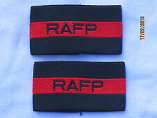 Royal Air Force Police, RAFP, Polizei Luftwaffe , schwarz/rot, 30x55mm