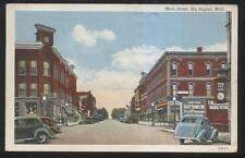POSTCARD BIG RABIDS MI SCOTTS 5 CENTS TO $1.00 STORE & BUSINESS STORE FRONT