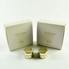 Cle De Peau La Cream / The Creme - Set Of 2 Travel Size Jars x 2mL / 0.07 Oz.