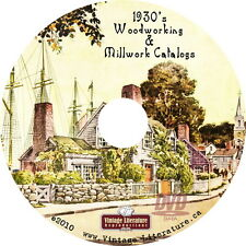 1930's Millwork Home Design Architecture Catalogs { Interior Design } on DVD