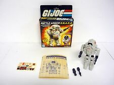 GI JOE BATTLE ARMOR SNAKE Vintage Figure Vehicle Cobra COMPLETE w/BOX 1983