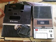 Vintage Bell & Howell Filmosound Cassette Recorder - Original Case & AC Adapter